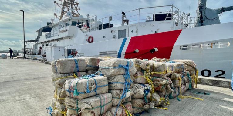 Coast Guard Seizes 3,747 Pounds of Cocaine Near British Virgin Islands