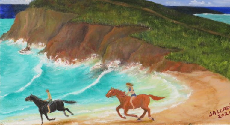 Crucian Artist/Author Opens Exhibit at Cane Roots Art Gallery Friday