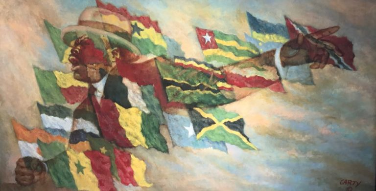 Closing Friday – St. Croix Artist Leo Carty's 'Remembrance Exhibit'