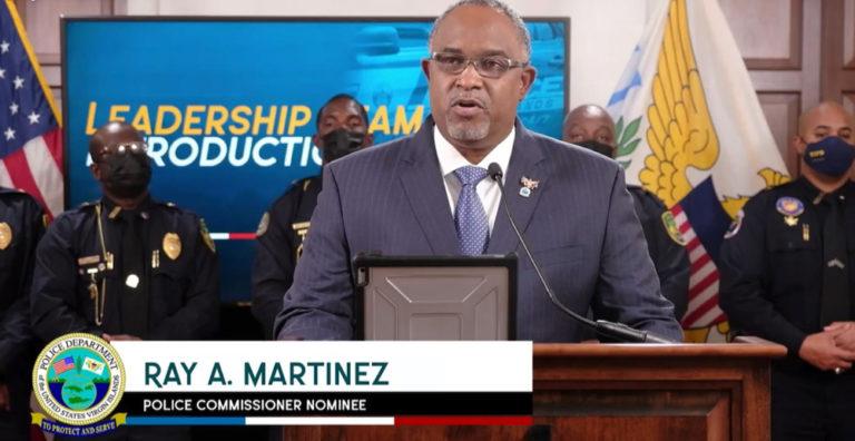 Police Commissioner Nominee Martinez Introduces Leadership Team