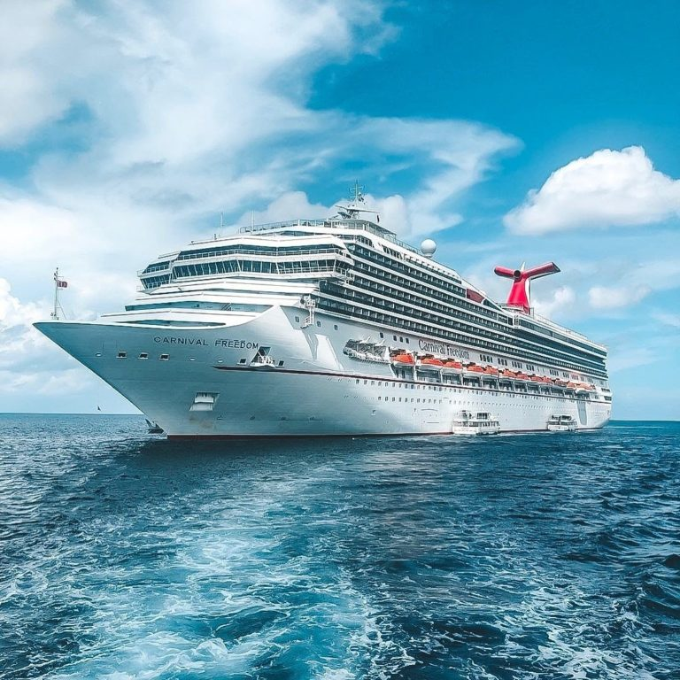 Cruise Ship Carnival Freedom Returns to St. Thomas After More Than a Year