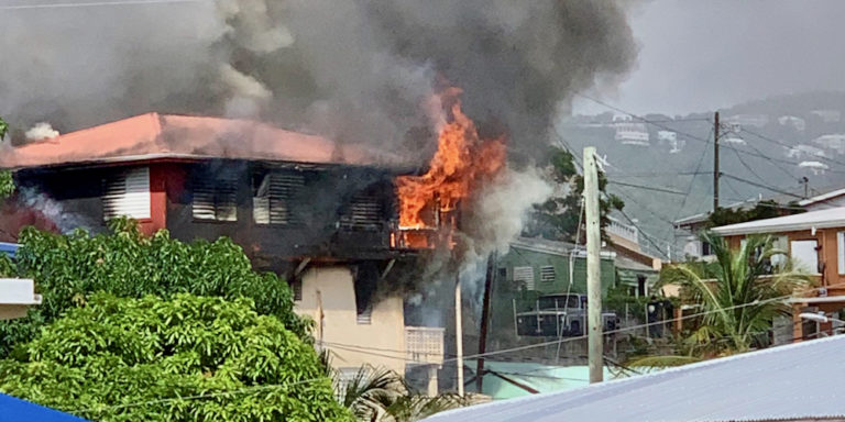 Three-Alarm Fire Damages Frenchtown Home, No Residents Injured
