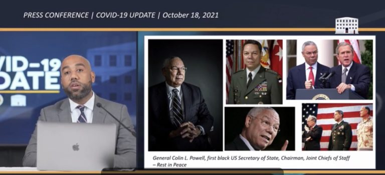 U.S. Virgin Islands Officials Pay Tribute to Colin Powell, Who Died Monday